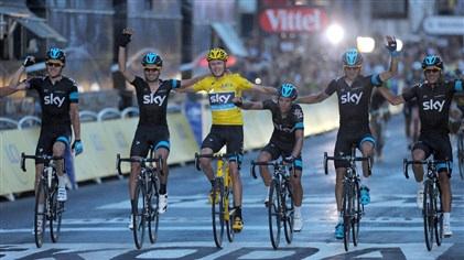 team skys amazing teamwork